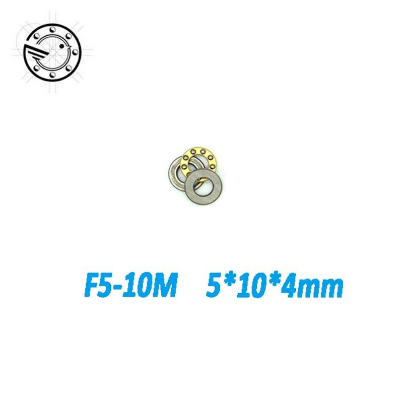 Free shipping 10 pcs Axial Ball Thrust Bearing F5-10M  5mmx10mmx4mm  5*10*4mm