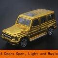 Сплав Benz G65 Diecasts модель автомобиля 1:32 литой модели автомобиля коллекция Сплава автомобиля Посадки модель игрушки для детей Новогодний Подарок