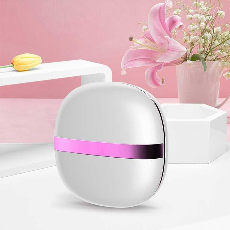 במיוחד sonic עדשות מגע מנקה מיני נייד אלקטרוני אוטומטי מכונת כביסה טיפול יומיומי מהיר רטט sonic כביסה נסיעות מקרה