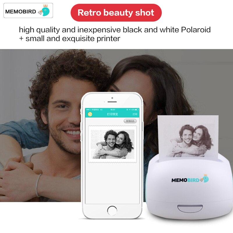 MEMOBIRD G2 Wifi Photo Printer Portable Wireless Pocket Thermal Receipt Label Printer Mini Printing Photo Printer JEPOD Russsia
