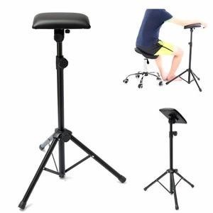 Image 5 - Nouveau 2016 fer tatouage bras jambe repose pied Portable entièrement réglable chaise pour tatouage Studio travail approvisionnement lit tabouret 65 125cm