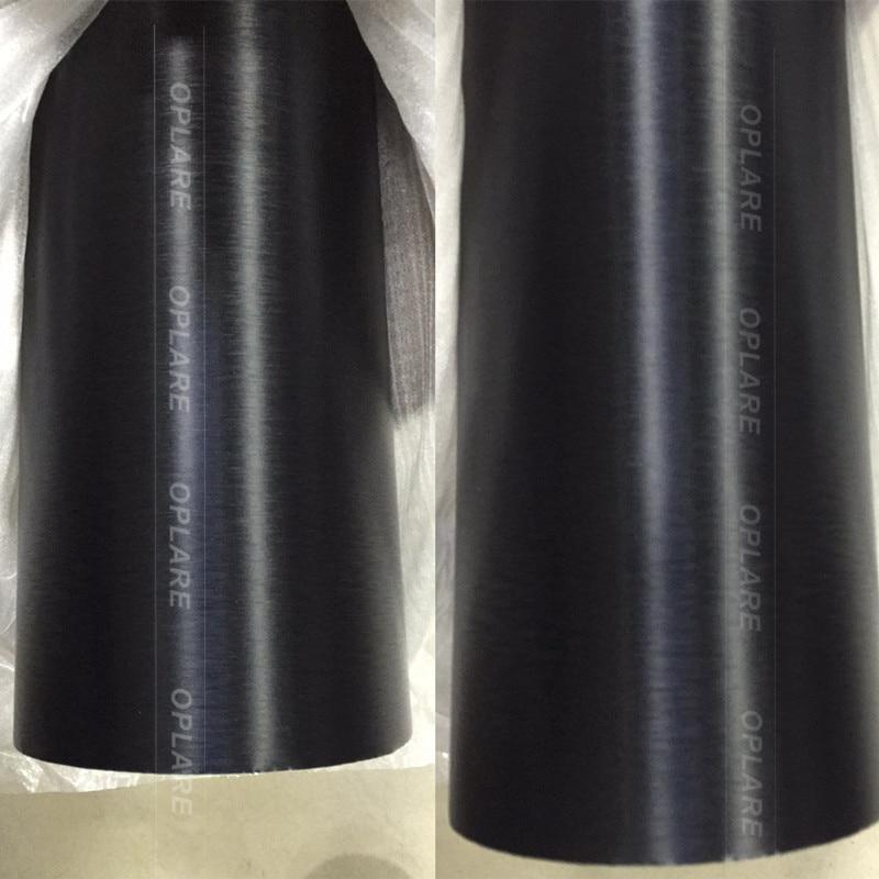 Titane Gris Aluminium Brossé Enveloppe de Vinyle De Voiture Wrap Métal Film Avec la Bulle Libre 1.52x30 m/rouleau prix d'usine en gros - 6