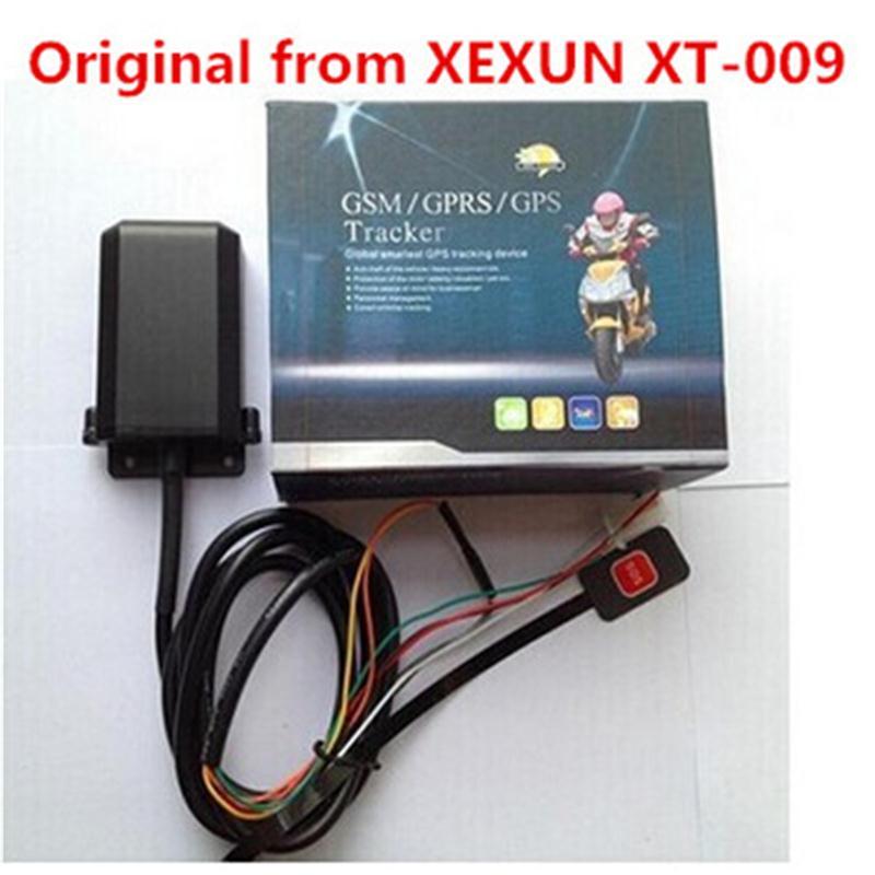 Оригинален Xexun XT-009 Мини мотоциклет GSM GPS Tracker 2G Устройство за проследяване на автомобил Аларма срещу кражба Безплатен мобилен телефон APP уеб проследяване