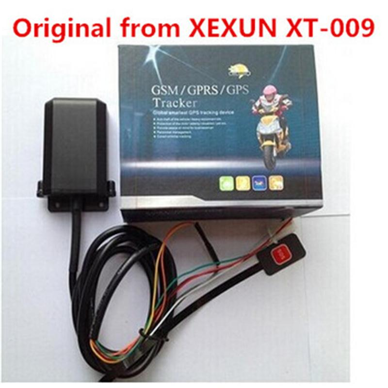 Xexun XT-009 Motorcycle Motorbike GSM GPS Tracker Tracking Device with Anti-theft Alarm Free Mobile Phone APP Web Tracking gsm gprs gps car motorcycle anti theft satellite locator red black