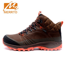 Merrto 2017 New Autumn Winter Brand Outdoor Hiking Shoes Men's Sport Cool Trekking Mountain Man Climbing Athletic Shoes