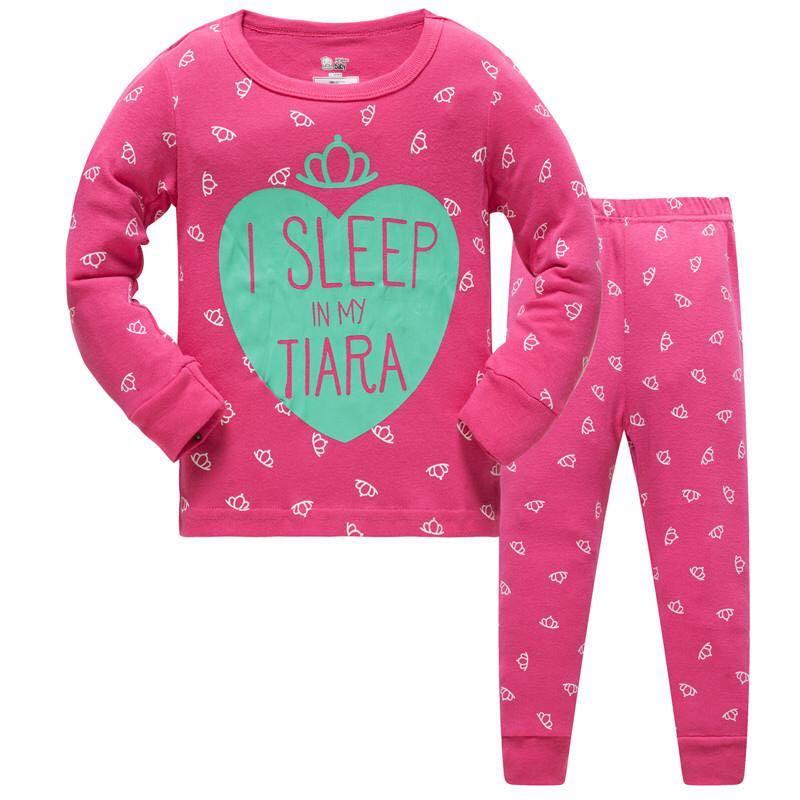 2019 Pijamas unicorn Girls Sleepwear Baby pyjamas Girl Clothes toddler 8T Clothing For Kids Pajamas set nightdress Home Suit 3