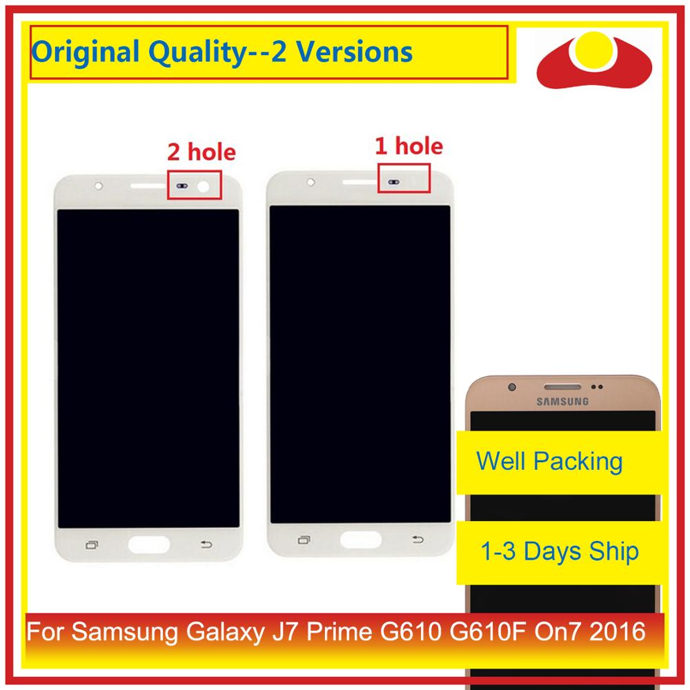 Image 1 - 50Pcs/lot For Samsung Galaxy J7 Prime G610 G610F On7 2016 G6100 LCD Display With Touch Screen Digitizer Panel Pantalla Complete-in Mobile Phone LCD Screens from Cellphones & Telecommunications