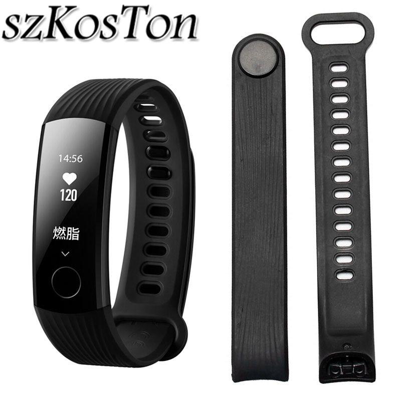 Strap Band Watch Bands For Huawei Honor 3 Smart Watch Bracelet Strap Wristband Adjustable Wrist Bracelet Watch Strap(China)