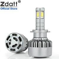 Zdatt 4 Led 360 Degree Lighting CSC Led Chip H7 Led Lamp Bulb 100W 12000LM Auto