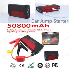 Car power bank  50800mAh  Car JumpStarter Power Bank Mini Portable Emergency Battery Charger for Auto and Mobile Phone