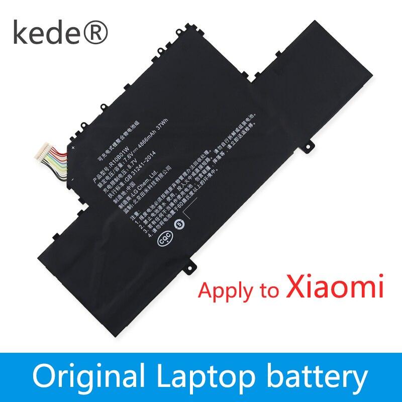 Batterie dordinateur portable kede 7.6 V 38wh Original R10B01W pour tablette Xiaomi ml Air 12.5/in R10B01WBatterie dordinateur portable kede 7.6 V 38wh Original R10B01W pour tablette Xiaomi ml Air 12.5/in R10B01W