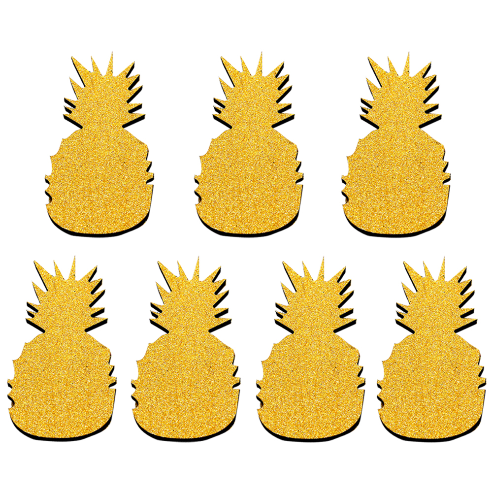 Online Shop Gold Pineapple Wall Stickers Decal Home Party Decoration ...