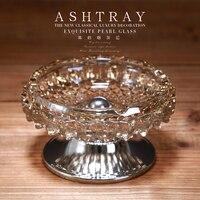 Classic Pearl Glass Ashtray Home Decoration Cigar Ashtray