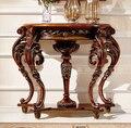 -Madeira maciça estilo europeu padrões carve ou desenhos sobre madeira. da varanda. francês mesa da varanda.