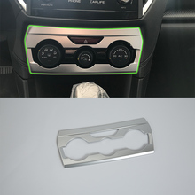 3pcs red car air conditioner switch cover for jeep wrangler 2008 2014 auto air conditioner button ring interior car styling Auto accessories middle air conditioner cover 1pcs Car Styling accessories For SUBARU XV 2017