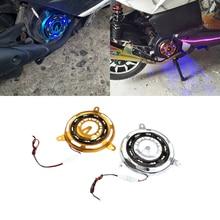 JEAZEA мотоцикл велосипед мотор для скутера крышка вентилятора охлаждения рамка с разноцветными огоньками для GY6 125 150 152 аксессуары