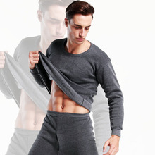 2019 Hot Winter Mens Warm Thermal Underwear Mens Long Johns Sexy Thermal Underwear Sets Thick Plus
