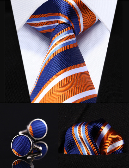 2945b3a7fcd7 TZS06N8 Orange Blue Striped 3.4