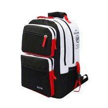 High-School-Bags Backpack Teenage Black Girls Boys White And for Travel Laptop-Bag Kids