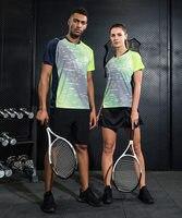 Free Print sports Tennis clothes sportswear sets Women / Men , Tennis Wear set , Badminton clothes suit 1013
