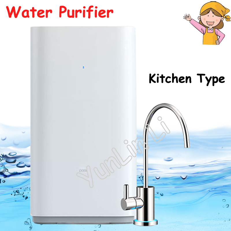 Kitchen Type Water Purifier RO Reverse Osmosis Filter Direct Drinking Water Terminal Water Purification Easy to Install 2016 osmosis portable ceramic filter faucet water purifier adapted to the standard easy installation removes 99% contaminants