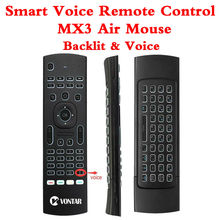 Backlight MX3 PRO Air Mouse Voice Remote Control 2.4G Wireless Keyboar