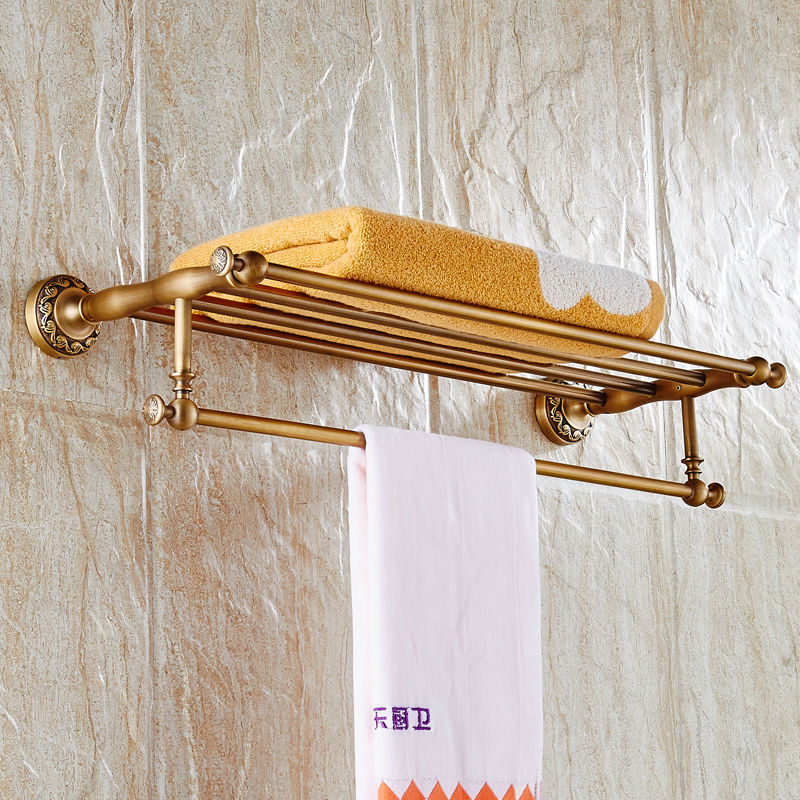 New arrival Bathroom Accessories Classic Antique Brass Bathroom ...