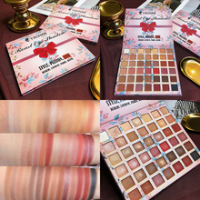 цена на Pro 42 Color Roast Eyeshadow Palette Shimmer Matte Eyeshadow Pallete Glitter Pigment Balm Earth Color Makeup Palette Cosmetic