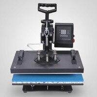 VEVOR фабрике производится в течение 5 в 1 цифровой термокомпрессор для печатания на для футболок кепок кружка сублимации