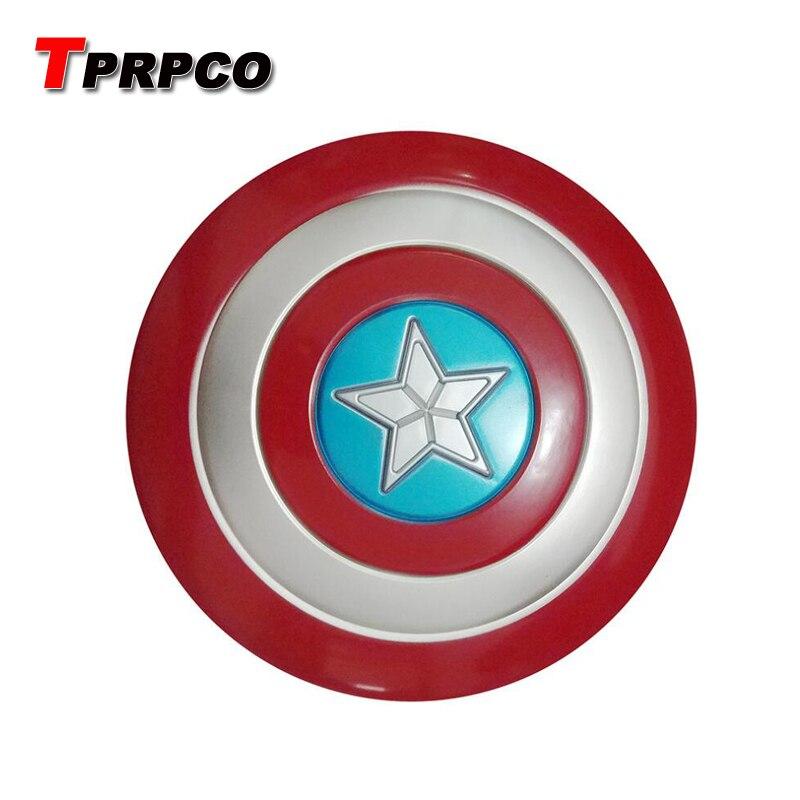 TPRPCO 32CM No Sound No Luminous  Avengers Captain America Shield Cosplay Toy Shields Action Figure NL7761