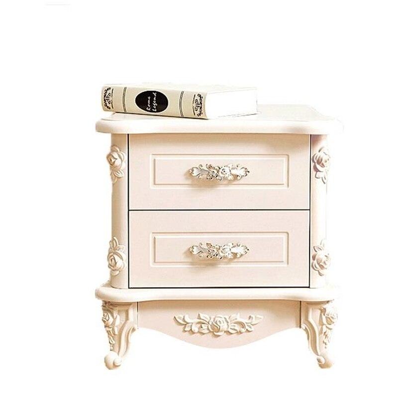 Per La Casa Mesillas Noche Para El Veladores European Wooden Quarto Bedroom Furniture Cabinet Mueble De Dormitorio Nightstand