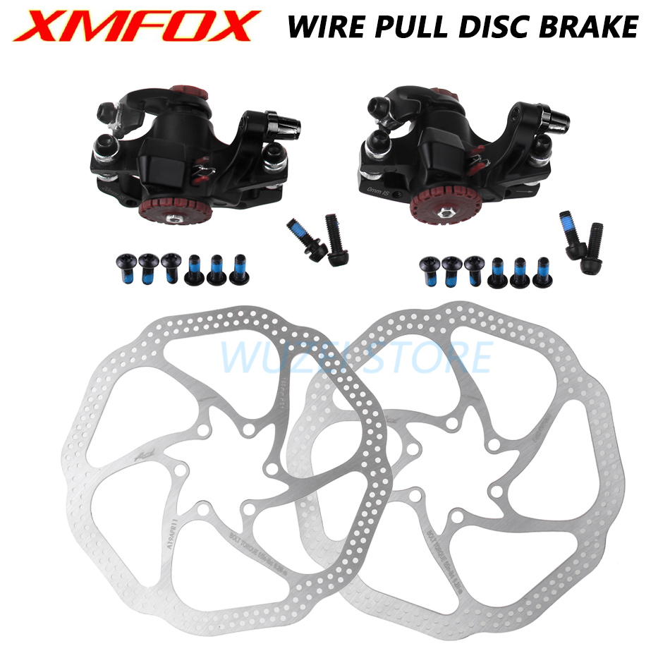BB5 Mountain Bike Mechanical Disc Brake Front/&Rear Set W//G3 160mm Rotors Parts