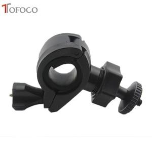 Image 2 - TOFOCO אופניים בורג הר מחזיק כידון קליפ הר אופני קליפ סוגר עבור Gopro hero 3/גיבור 2/HD גיבור מצלמה באיכות גבוהה