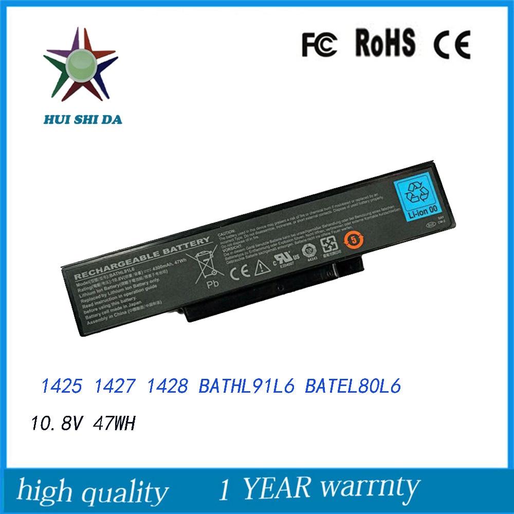 Nouvelle batterie dordinateur portable pour Dell Inspiron 1425 1426 1427 BATEL80L6 BATHL90L6Nouvelle batterie dordinateur portable pour Dell Inspiron 1425 1426 1427 BATEL80L6 BATHL90L6