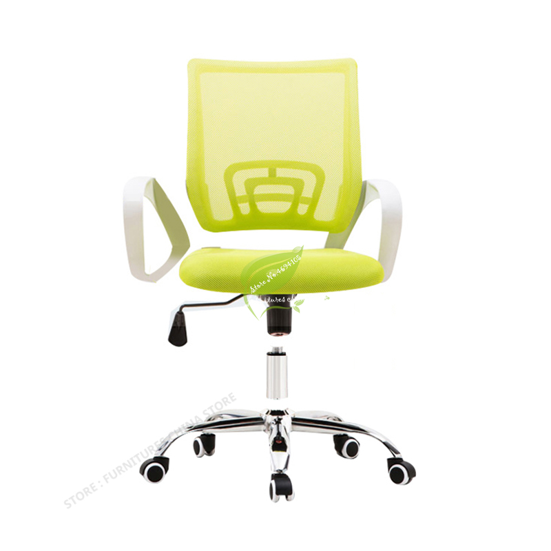 Backrest Mesh Bow Staff Chair Office Chair Gamer Seat Recliner Chair Office Computer Office Furniture Mesh Chair