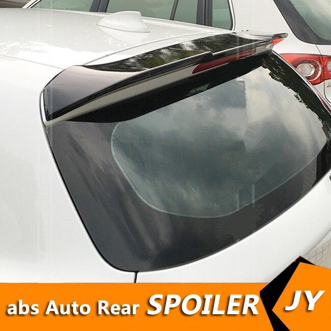 Pour BMW F20 F21 Spoiler 2015-2018 116i 120i 118i M135i matériel ABS de haute qualité apprêt d'aile arrière de voiture couleur aileron arrière