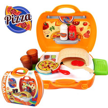 Kid's Pretend Play Toy Set Pizza/Makeup/BBQ/Medical Design