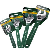 """LAOA Wrench Technical Grade 6"""" 8"""" 10"""" 12"""" Shifting Spanner High Quality Non-slip handle Spanner Repair Tools"""