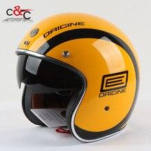 Torc t57 open face vintage scotter jet motorbike helmet motocross capacete cascos moto retro casque casco de motocicleta vespa