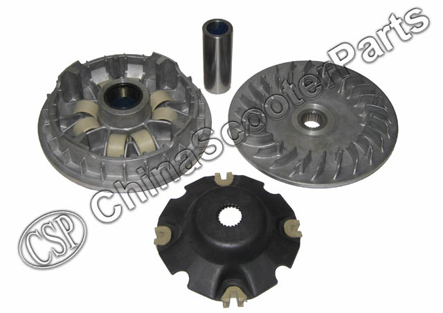 194MM 23T Variator Clutch Kit CFmoto CF moto 500 500CC CF188 UTV ATV Buggy Go Kart Parts magneto coil 12v 18 coils 3 2 pins repair water cooled cf188 cf500 18 pole stator utv atv buggy go kart 0180 032000 xq cf500