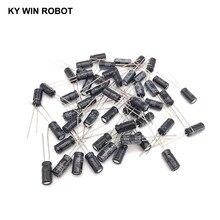50 pz/lotto 10 uf 63 v 10mf 105C 5X11mm Alluminio Condensatore Elettrolitico 63V10UF radial piombo 50 pz