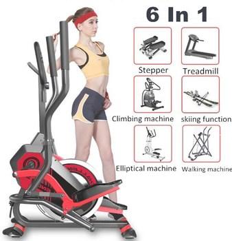 Trenażer eliptyczny stacjonarne rowery do ćwiczeń rowerowych domowa siłownia orbitreki maszyny eliptyczne magnetyczny rower eliptyczny tanie i dobre opinie YAOSEN 120kg