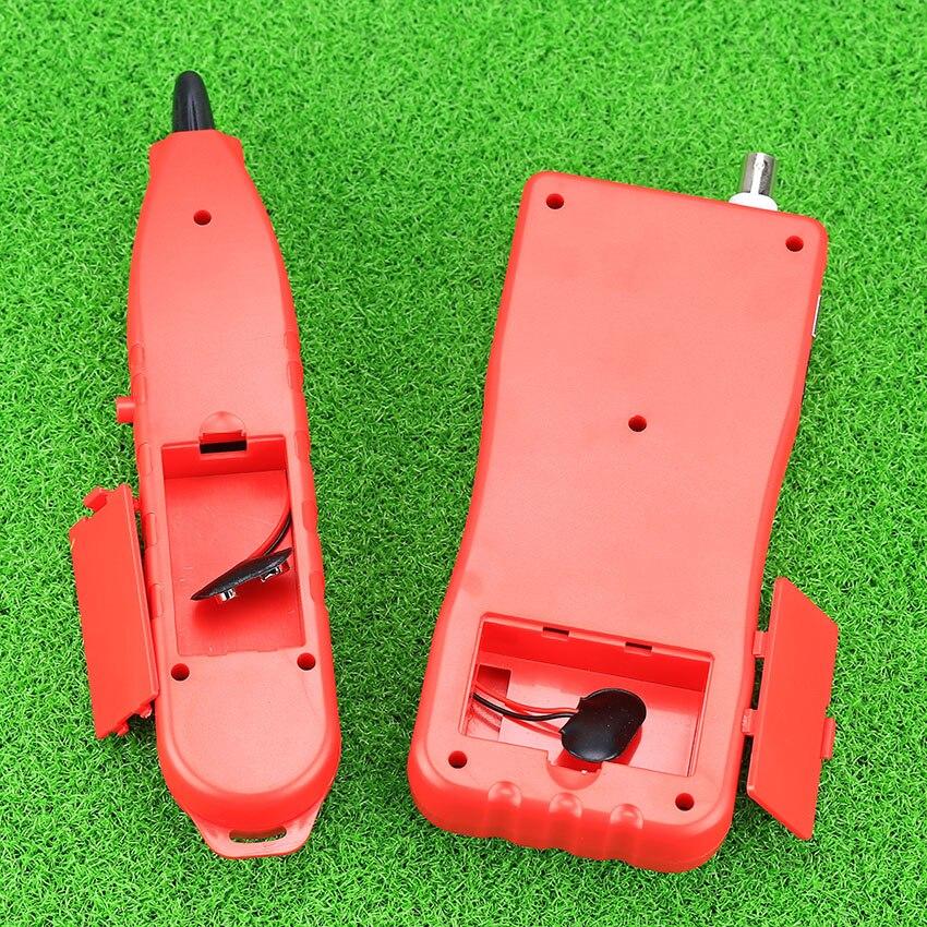 KELUSHI NF-868 testeur réseau LAN téléphone Tracker fil USB testeur de câble Coaxial (portée 1200 m)-rouge - 5