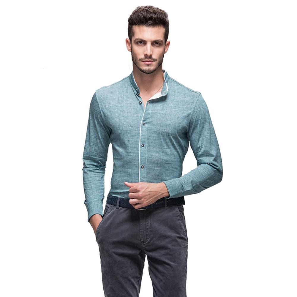 Aliexpress.com : Buy E artist Men's Stand Business Casual Dress ...