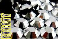 Черный Jet Гематит Цвет 2 мм, 3 мм, 4 мм, 5 мм, 6 мм грани плоской задней смола горный хрусталь Дизайн ногтей Самоцветы украшения