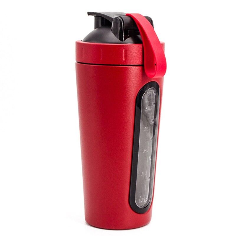 shaker bottle red