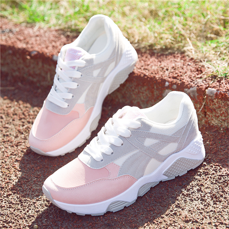Zapatos Mujer 2017 Summer New Women Sports Shoes Female Running Shoes Classical Lightweight Flat Breathable Outdoor Sneakers