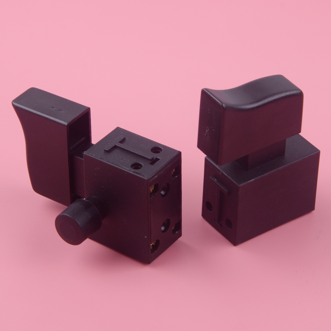 a 250v 5e4 6 Honest Letaosk 2pcs Latching 1no 1no Dpst Self Locking Power Tool Trigger Switch Button Electric 6