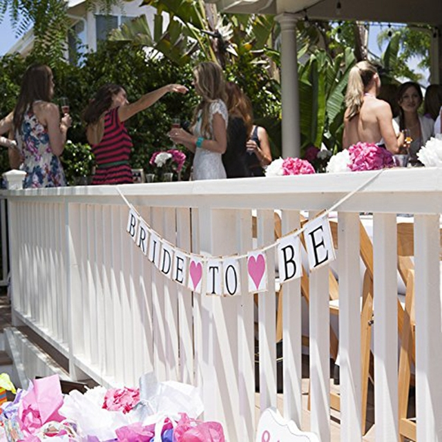 Bride To Be Paper Banner