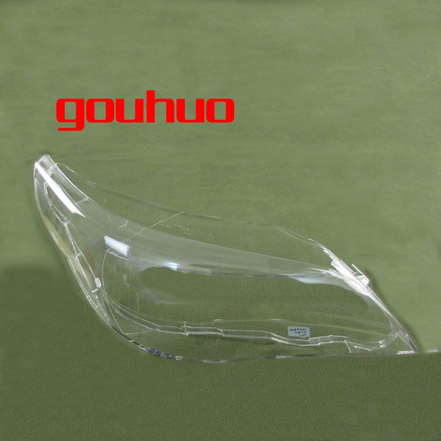 For 04 10 Bmw 5 Series E61 E60 520 523 525 530i Headlamp Cover Headlight Glass Lampshade  Headlight Shell 1pcs